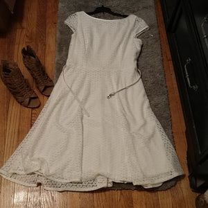 White summer time dress